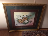 painting of violin and bow Middlesex, 27557