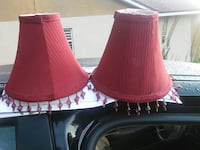 two red lamp shades Ocala, 34475