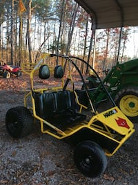 2 seater go cart and pressure washer