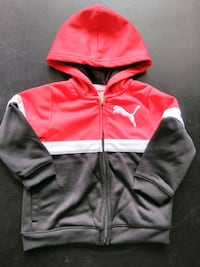 pink and white zip-up hoodie Seattle, 98133