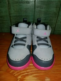 GREY PINK JORDANS FLIGHT TODDLER SIZE 9C  Wahiawa, 96786