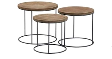 BRAND NEW Tommy Hilfiger Side Table Set