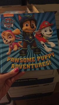 New hard covered paw patrol book Laval, H7Y 2C1