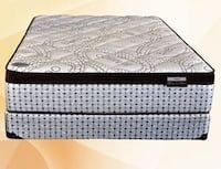 Brand new queen deluxe pocket coil mattress Mississauga, L5N 3A4