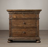 """Restoration Hardware St. James Collection 32"""" wide closed nightstands NEW (Falls Church)"""
