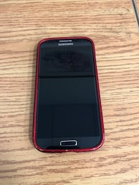 Samsung Galaxy S4 Unlocked with cover and AC Adaptor with cable Vaughan, L4K 4Y2