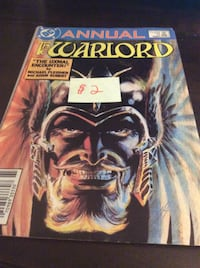 comic Annual the Warlord Rockville