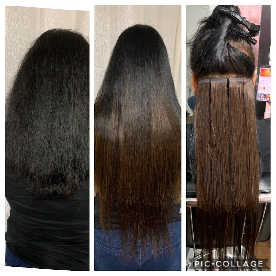 Hair extensions tap in or microbeads and Nail tip and Nano beads 59f5fd3a-52f5-442d-82b2-0f0bb82486f6