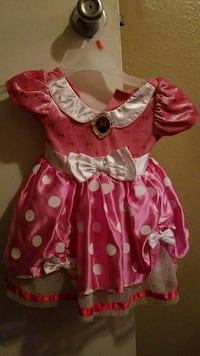 girl's pink and white floral dress South Houston, 77587
