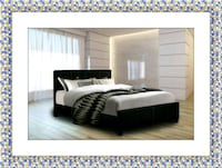Twin platform bed with mattress and delivery McLean