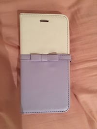 Iphone 6s plus white and purple wallet case Burnaby, V5J 3Z2