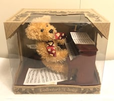 Collectors Choice Teddy Bear Playing Piano