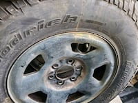 Rims and tires 6 lugs.17 inch for Ford F150,250  Laurel, 20708