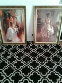 two woman in white dress paintings Fresno, 93727