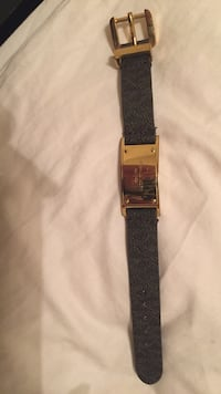 Black/dark brown leather strap Michael Kors bracelet Killeen, 76542