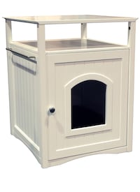 White wooden framed glass cabinet San Diego, 92131