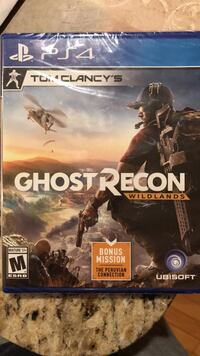 Ghost recon PS4 Ashburn, 20147