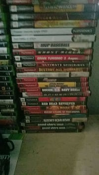 assorted Xbox 360 game cases Maywood, 90270