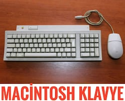 Apple Keyboard II 2 Macintosh Classic Klavye Mous