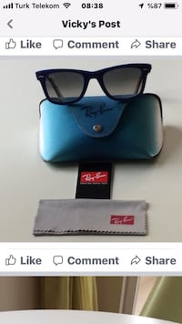 RAY BAN WAYFARER UNISEX ORIGINAL UNISEX LIMITED EDITION RARE PRINTS