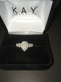 White gold  kay jewelers ring with box Pittsburgh, 15237