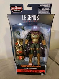 Marvel Legends Series Mysterio w/BAF Woodbridge, 22191