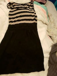 black and white stripe sleeveless dress Toronto, M1B 3H6