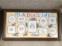 It's A Dog's Life printed wall decor