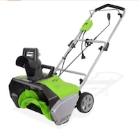 Greenworks Corded Snow Thrower Las Vegas