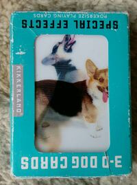 Cool 3d lenticular dog playing cards Woodstock, 22664