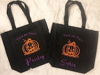 Personalized Trick or Treat Bags Jamestown, 14701