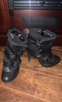 Black fall/winter heels London, N6G 3L4
