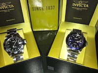 Pair of brand new Invicta watches Roselle, 07203