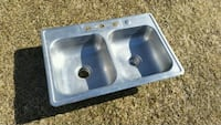 "Stainless steel sink 22"" x 33"" x 6"" McHenry, 60051"