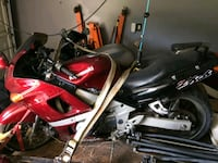 red and black Honda standard motorcycle Gaithersburg, 20877