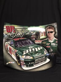 black and green Nascar print textile Las Vegas, 89138