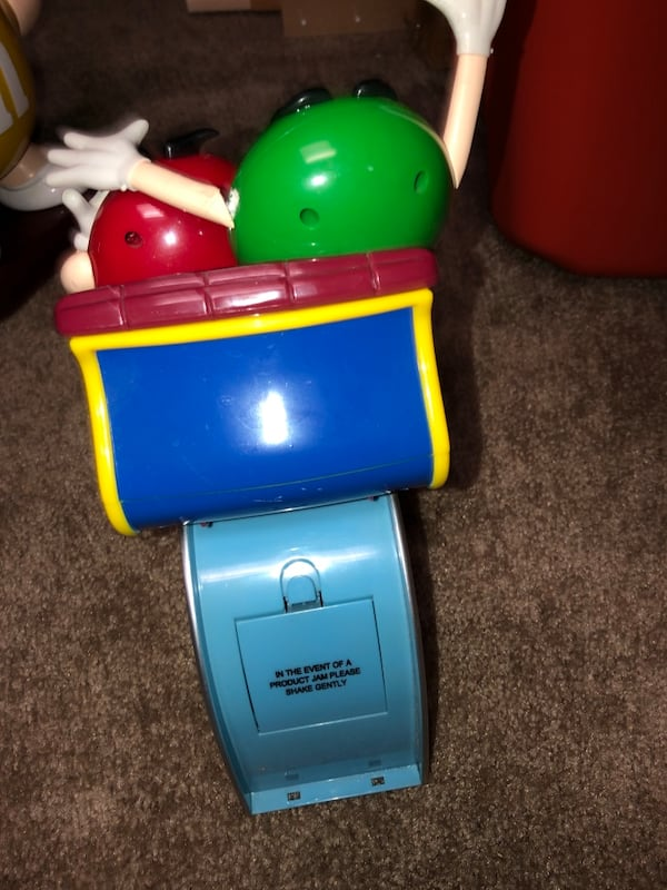 M&M Motorcyle and Roller Coaster dispenser (collectibles) d3497828-515f-465b-a2f5-7c7675ab216e