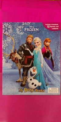 Frozen Book with Mini Figures and Poster Toronto, M9C 3J3