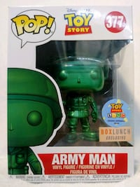 Funko Pop Army Man Metallic 377 Box Lunch Modesto, 95357