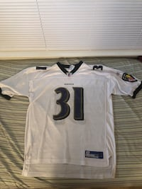 white and black NFL jersey Germantown, 20874