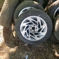 2 used chevy olds pontiac 16 inch rims good tires  Red Lion, 17356