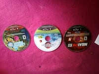 two PS3 game discs with cases Austin, 78758