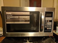 ***Very good condition*** 1.0cf Stainless Steel Microwave Oven- MWM10100SS (Haier) Falls Church, 22043
