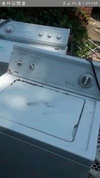 white top-load clothes washer Detroit, 48238