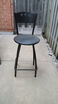 """2  - Steel stools, 24"""" to seat and 38"""" Bolton, L7E 1X2"""