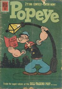 1961 Popeye reader grade quality and a little musty ++++++++++++++++++++++++++++++++ Pick-up i Newmarket