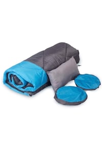 Sleeping Bag -ECO Friendly Materials-Water Resistant & Machine Washable Wilmington, 19809