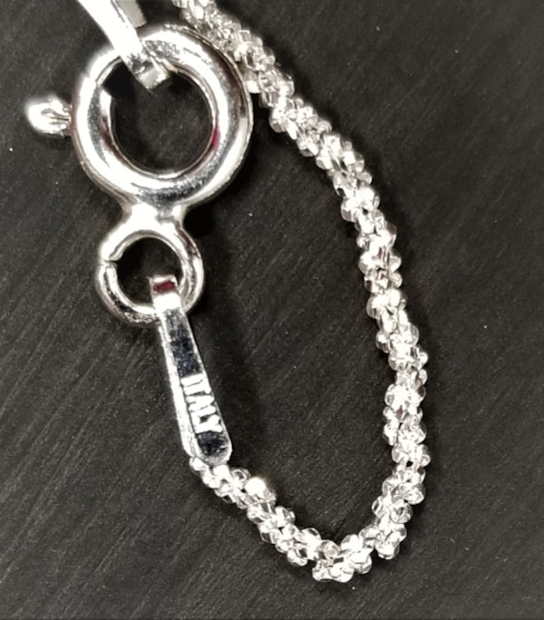 1.2MM 18 Inch Twisted Diamond Cut Chain 925 Sterling Silver Necklace 689f4a20-7345-45c9-b0f9-74dfc56699eb