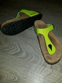 Neon Lime Green Birkenstocks 536 km