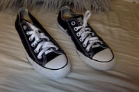 pair of black Converse All Star low-top sneakers Rock Island